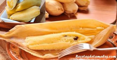 receta de tamales canario