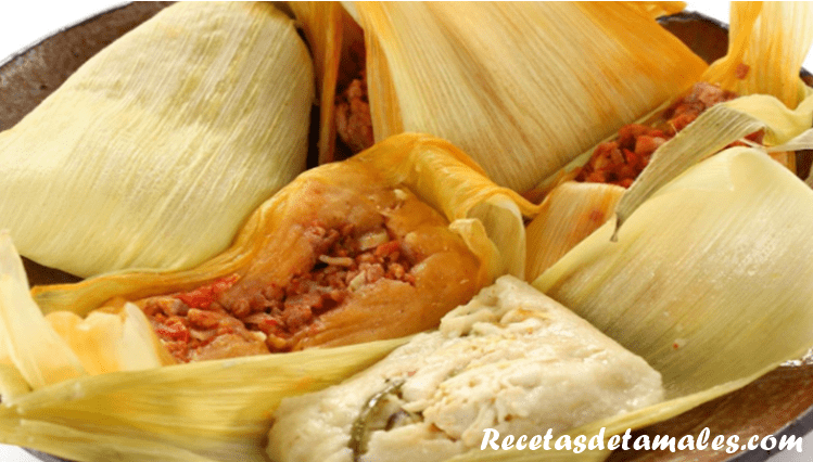 receta de tamales rojos mexicanos