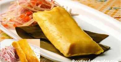 recetas de tamales criollos
