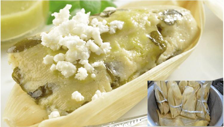 receta de tamales de verdolaga