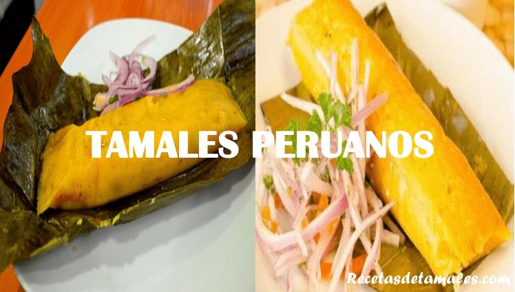 Receta de tamales peruanos