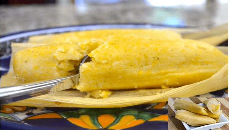 receta de tamalitos de elote