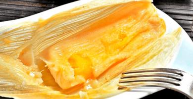receta de tamales de piña