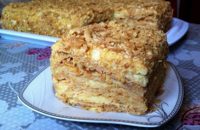 El pastel de Napoleón más delicioso a toda prisa