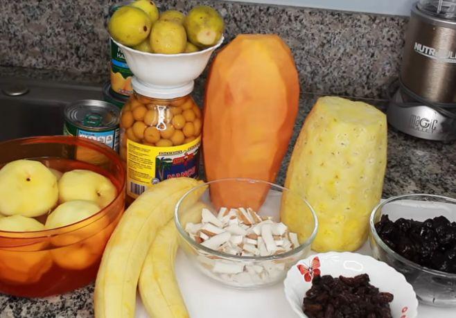 Ponche de Frutas Navideño, Receta de Bebida